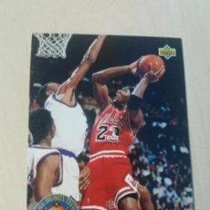 Coleccionismo deportivo: NBA UPPER DECK 92/93 CROMO FICHA Nº 43 MICHAEL JORDAN. Lote 162346302