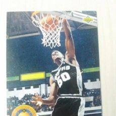 Coleccionismo deportivo: NBA UPPER DECK 92/93 CROMO FICHA Nº 45 DAVID ROBINSON. Lote 162346430