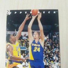 Coleccionismo deportivo: NBA UPPER DECK 92/93 CROMO FICHA Nº 83 RIK SMITS. Lote 162347970