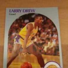 Coleccionismo deportivo: LARRY DREW 155 NBA HOOPS 1990-91 LOS ANGELES LAKERS. Lote 162362412