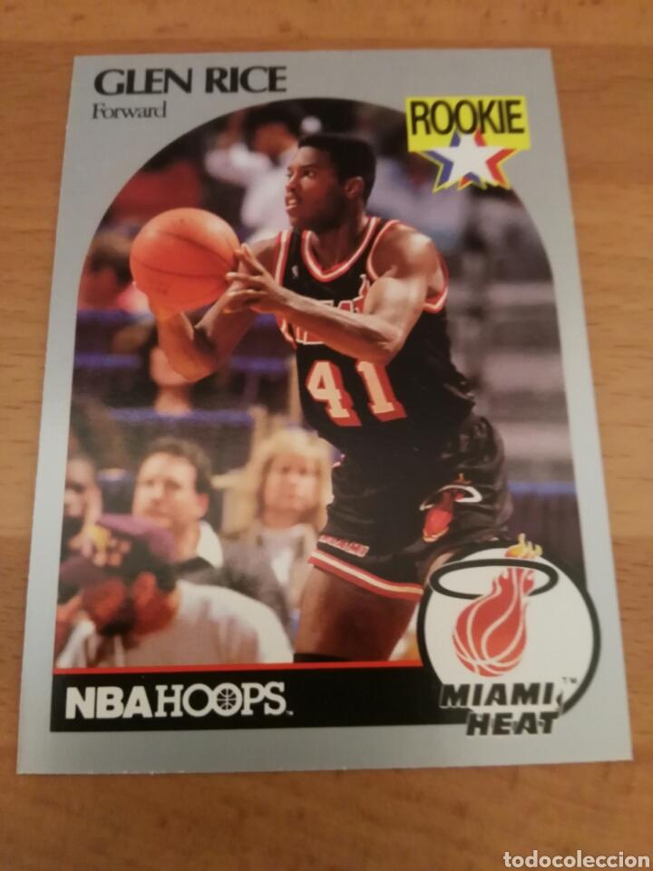 brand new 4e0e9 b85a0 Glen Rice 168 NBA Hoops 1990-91 Miami Heat