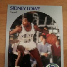 Coleccionismo deportivo: SIDNEY LOWE 187 NBA HOOPS 1990-91 MINNESOTA TIMBERWOLVES. Lote 162364578