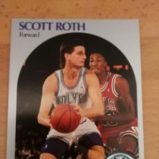 Coleccionismo deportivo: SCOTT ROTH 191 NBA HOOPS 1990-91 MINNESOTA TIMBERWOLVES. Lote 162364690