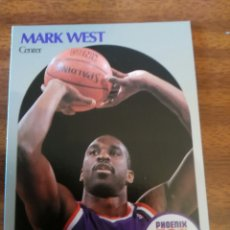 Coleccionismo deportivo: MARK WEST 242 NBA HOOPS 1990-91 PHOENIX SUNS. Lote 162406073