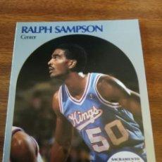 Coleccionismo deportivo: RALPH SAMPSON 261 NBA HOOPS 1990-91 SACRAMENTO KINGS. Lote 162407078