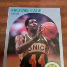 Coleccionismo deportivo: MICHAEL CAGE 275 NBA HOOPS 1990-91 SEATTLE SUPERSONICS. Lote 162407748