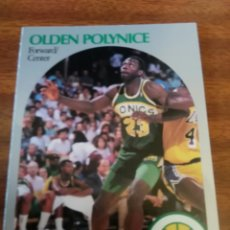 Coleccionismo deportivo: OLDEN POLYNICE 283 NBA HOOPS 1990-91 SEATTLE SUPERSONICS. Lote 162407850