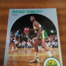 Coleccionismo deportivo: SEDALE THREATT 284 NBA HOOPS 1990-91 SEATTLE SUPERSONICS. Lote 162407942