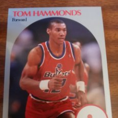 Coleccionismo deportivo: TOM HAMMONDS 298 NBA HOOPS 1990-91 WASHINGTON BULLETS. Lote 174897128