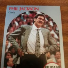 Coleccionismo deportivo: PHIL JACKSON 308 NBA HOOPS 1990-91 CHICAGO BULLS. Lote 174897460