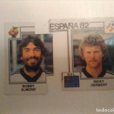 Coleccionismo deportivo: CROMO ALMOND/HERBERT Nº421 PANINI ESPAÑA 82. Lote 162650906