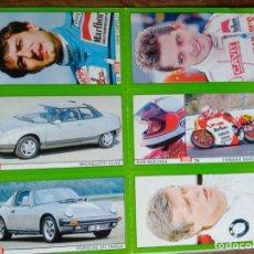 Coleccionismo deportivo: LOTE DE LAMINA DE 6 CROMOS - ALBUM AS MOTOR -. Lote 162836770