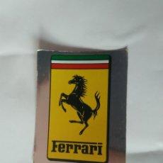 Coleccionismo deportivo: Nº 95 FERRARI - CROMO PANINI AÑO 1987 MOTOR ADVENTURES: FÓRMULA 1 MOTOCICLISMO RALLY PARÍS-DAKAR. Lote 163220794