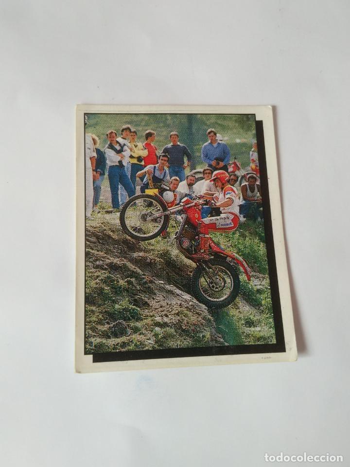 Nº 142 - MOTOCROSS CROMO PANINI AÑO 1987 MOTOR ADVENTURES: FÓRMULA 1 MOTOCICLISMO RALLY PARÍS-DAKAR (Coleccionismo Deportivo - Cromos otros Deportes)