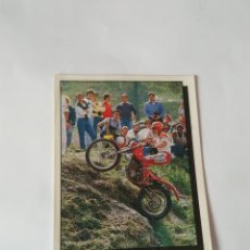 Coleccionismo deportivo: Nº 142 - MOTOCROSS CROMO PANINI AÑO 1987 MOTOR ADVENTURES: FÓRMULA 1 MOTOCICLISMO RALLY PARÍS-DAKAR. Lote 163224118