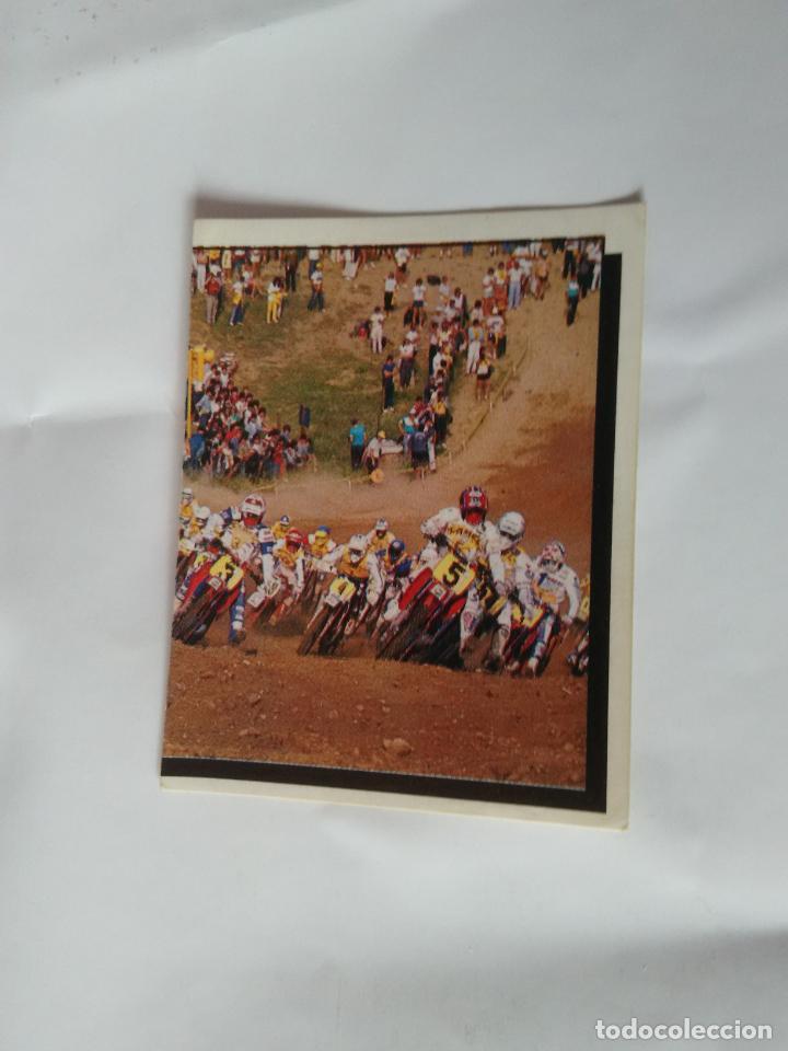Nº 82 CROMO PANINI AÑO 1987 MOTOR ADVENTURES: FÓRMULA 1 MOTOCICLISMO RALLY PARÍS-DAKAR (Coleccionismo Deportivo - Cromos otros Deportes)