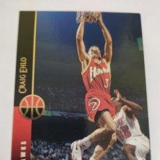 Coleccionismo deportivo - Craig Ehlo 81 NBA upper deck 94-95 Atlanta Hawks - 163361278