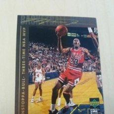 Coleccionismo deportivo: NBA UPPER DECK 94/95 CROMO FICHA Nº 214 MICHAEL JORDAN. Lote 179125652
