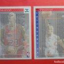 Coleccionismo deportivo: Nº 254/255 - CHECKLIST/MICHAEL JORDAN - NBA UPPER DECK 1992 1993 - BASKETBALL 92 93. Lote 164444674