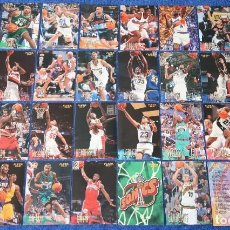 Coleccionismo deportivo: FLEER 96 97 - LOTE DE 32 CARDS + 7 ROOKIES - UPPER DECK. Lote 165091994