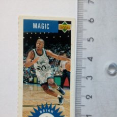 Coleccionismo deportivo: BRIAN SHAW UPPER DECK MINI CARD NBA COLLECTORS CHOICE HOLOGRAMA UPPER DECK 1996 ORLANDO MAGIC. Lote 165347305
