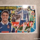 Coleccionismo deportivo: CROMO Nº 6 MARIO HERMOSO (R.C.D. ESPANYOL) LIGA 18-19. Lote 165635486