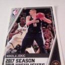 Coleccionismo deportivo: CROMO STICKER PANINI NBA 18 19 Nº 5 NIKOLA JOKIC (DENVER) BALONCESTO SIN PEGAR. Lote 165683274