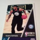 Coleccionismo deportivo: CROMO STICKER PANINI NBA 18 19 Nº 13 JOEL EMBIID (ALL STAR 2018) BALONCESTO SIN PEGAR. Lote 165683778
