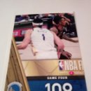 Coleccionismo deportivo: CROMO STICKER PANINI NBA 18 19 Nº 17 (NBA FINALS 2018) BALONCESTO SIN PEGAR. Lote 165684118