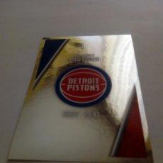 Coleccionismo deportivo: CROMO STICKER PANINI NBA 18 19 Nº 104 ESCUDO (PISTONS) BALONCESTO SIN PEGAR . Lote 165709670