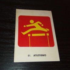 Coleccionismo deportivo: -CROMO KEISA CAMPEONES DEL DEPORTE MUNDIAL 1974 : 61 ATLETISMO. Lote 166773218