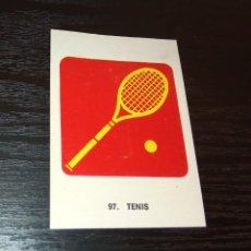Coleccionismo deportivo: -CROMO KEISA CAMPEONES DEL DEPORTE MUNDIAL 1974 : 97 TENIS . Lote 166783754