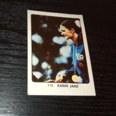 Coleccionismo deportivo: -CROMO GIMNASIA KEISA CAMPEONES DEL DEPORTE MUNDIAL 1974 : 119 KARIN JANZ. Lote 166818034