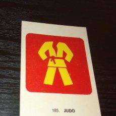Coleccionismo deportivo: -CROMO KEISA CAMPEONES DEL DEPORTE MUNDIAL 1974 : 185 JUDO. Lote 166845026