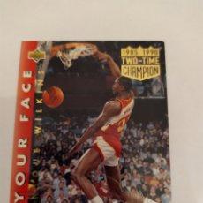 Collezionismo sportivo: DOMINIQUE WILKINS 34 NBA UPPER DECK HIGH SERIES 1992-93. Lote 166855538