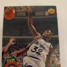 Coleccionismo deportivo: SHAQUILLE O'NEAL 35 NBA UPPER DECK HIGH SERIES 1992-93. Lote 166855550
