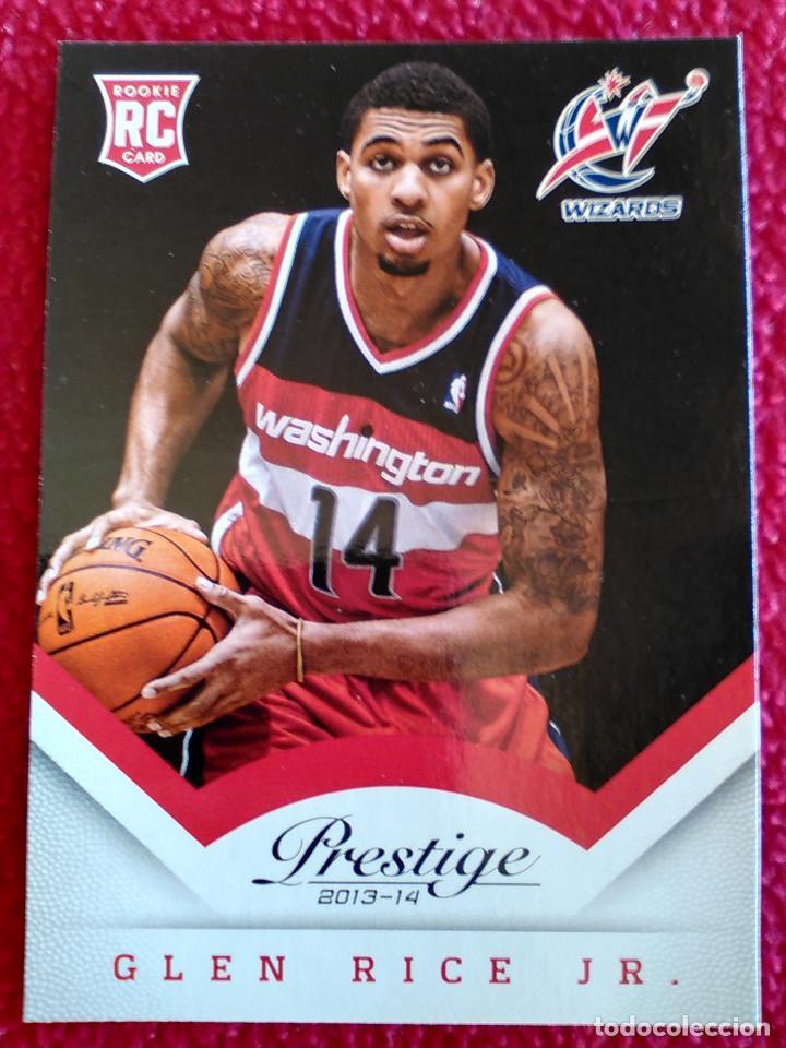192 Glen Rice Jr Rookie Panini Prestige 2013 2014 13 14 Basketball Nba Ficha Card Baloncesto Nuevo