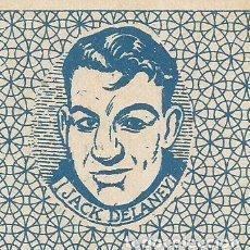 Coleccionismo deportivo: BOXEO-JACK DELANEY-CROMO-CARTA-NAIPE-CHOCOLATE EVARISTO JUNCOSA-VER FOTOS-(V-17.294). Lote 167160884