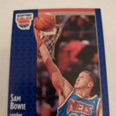 Coleccionismo deportivo: SAM BOWIE 129 NBA FLEER 91 NEW JERSEY NETS. Lote 168676246