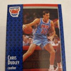 Coleccionismo deportivo: CHRIS DUDLEY 131 NBA FLEER 91 NEW JERSEY NETS. Lote 168676389