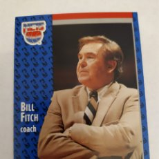 Coleccionismo deportivo: BILL FITCH 132 NBA FLEER 91 NEW JERSEY NETS. Lote 168771858