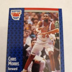 Coleccionismo deportivo: CHRIS MORRIS 133 NBA FLEER 91 NEW JERSEY NETS. Lote 168771954