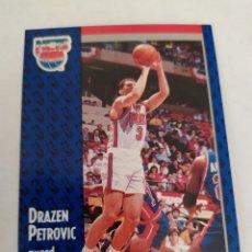 Coleccionismo deportivo: DRAZEN PETROVIC 134 NBA FLEER 91 NEW JERSEY NETS. Lote 176956069