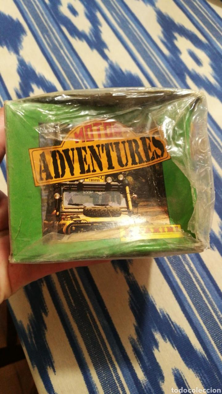 Coleccionismo deportivo: Panini 100 cromos adhesivos en caja original Motor Adventures - Foto 2 - 101623951