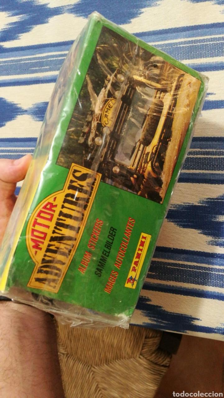 Coleccionismo deportivo: Panini 100 cromos adhesivos en caja original Motor Adventures - Foto 3 - 101623951