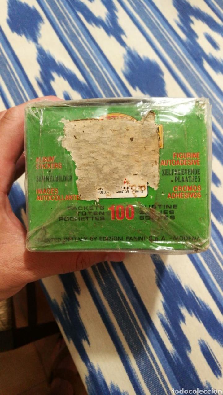 Coleccionismo deportivo: Panini 100 cromos adhesivos en caja original Motor Adventures - Foto 4 - 101623951