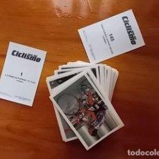 Coleccionismo deportivo: CROMOS NUEVOS RECIEN SACADOS DE SOBRES/ ASES DEL CICLISMO 1988 FHER COLECCION COMPLETA 145 C. Lote 170008913