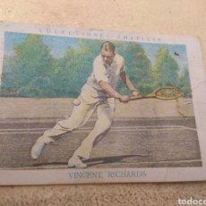 Coleccionismo deportivo: CROMO CHOCOLATES AMATLLER TENIS N°24 VICENT RICHARDS. Lote 170288788