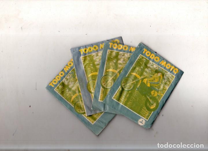 LOTE DE 5 SOBRES DE CROMOS CERRADOS. TODO MOTO. CROMOS CANO. VER FOTOS. (Coleccionismo Deportivo - Cromos otros Deportes)