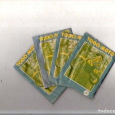 Coleccionismo deportivo: LOTE DE 5 SOBRES DE CROMOS CERRADOS. TODO MOTO. CROMOS CANO. VER FOTOS.. Lote 171015118
